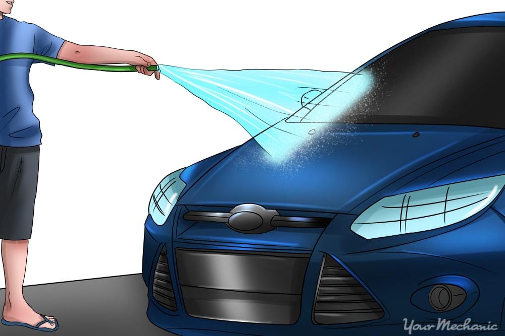 How To Get Sap Off A Car Yourmechanic Advice