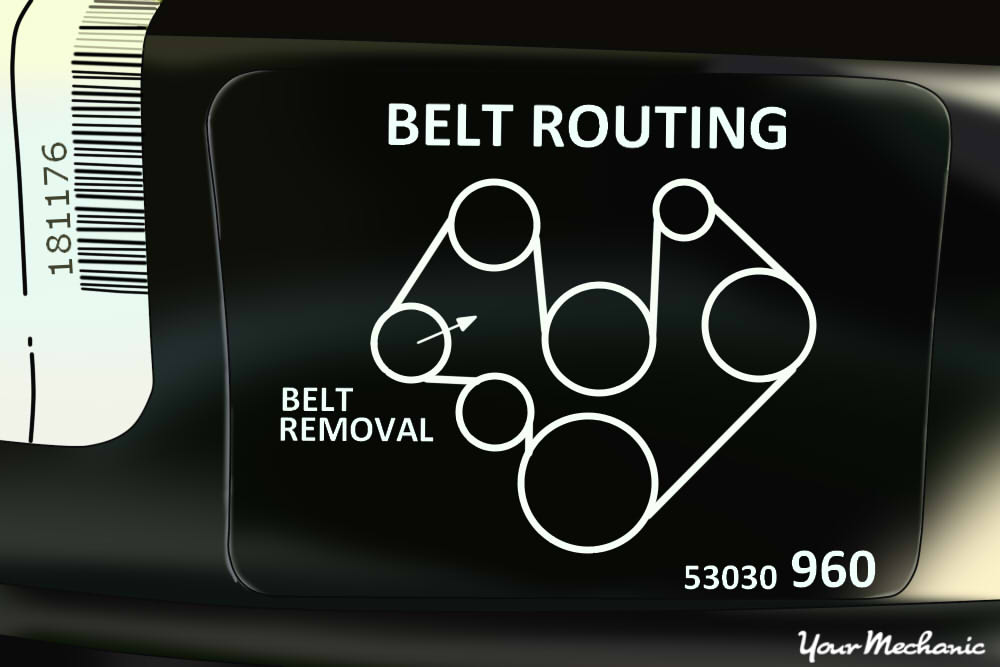 How to Replace an Air Injection Pump Belt 2