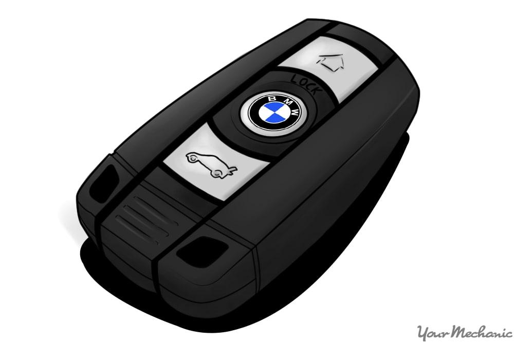 BMW smart key