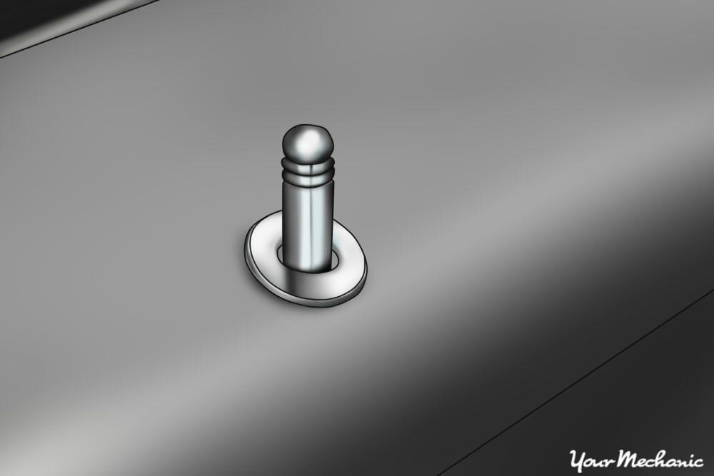 door lock button