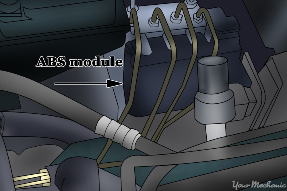 How to Replace an    ABS    Control Module   YourMechanic Advice