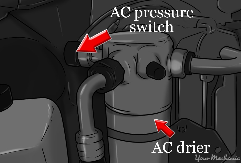 locating the pressure switch