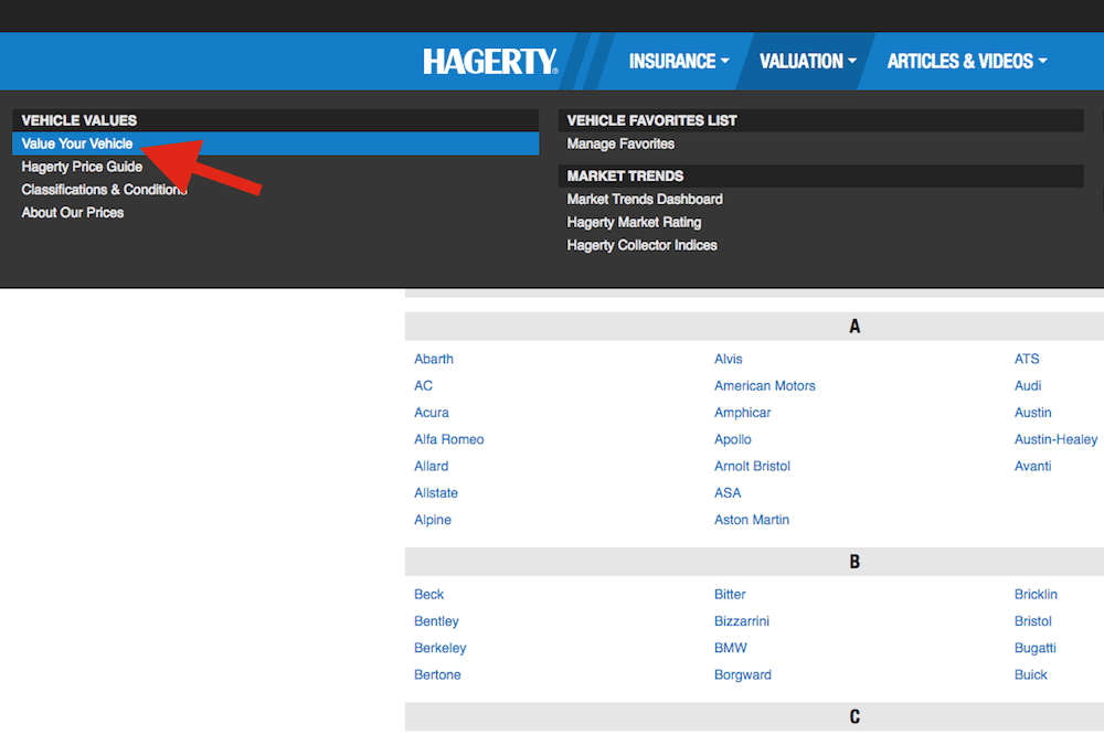 hagerty site