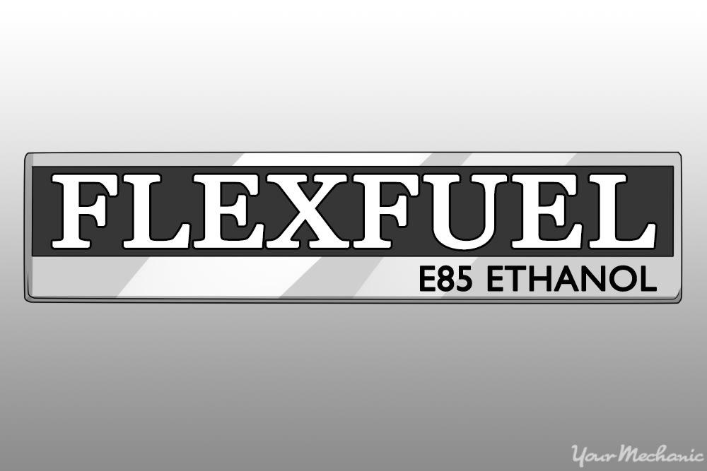 flex fuel badge