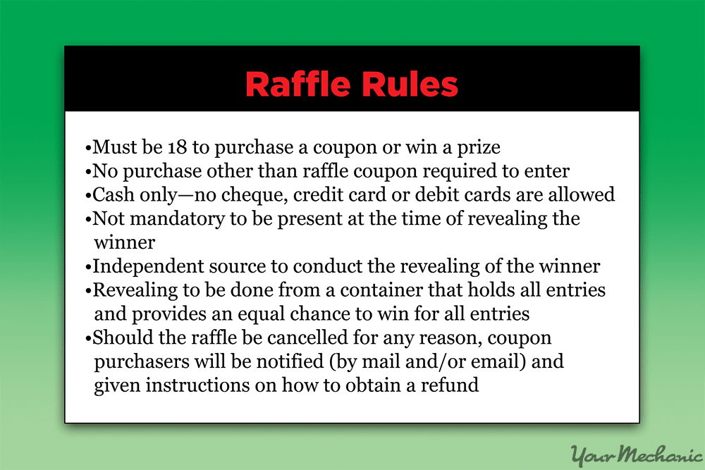 How to Raffle a Car | YourMechanic Advice
