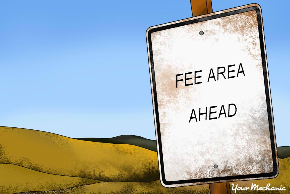 fee area ahead