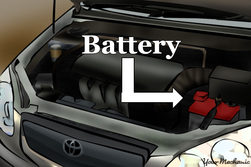 engine battery location