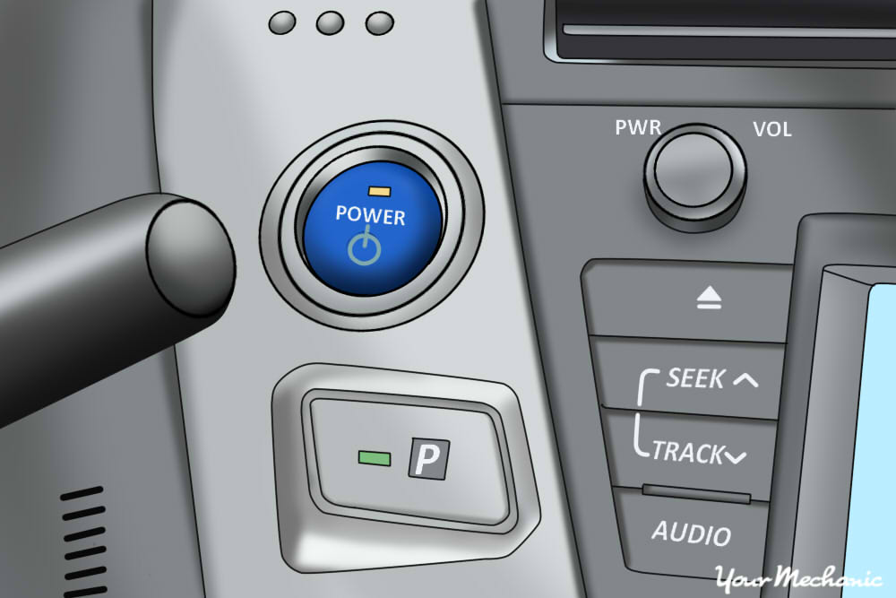 picture of start button