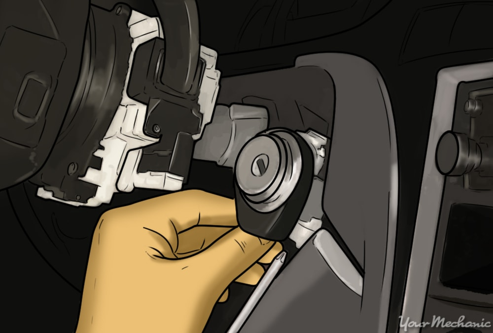 How to Replace an Ignition Lock Assembly 3