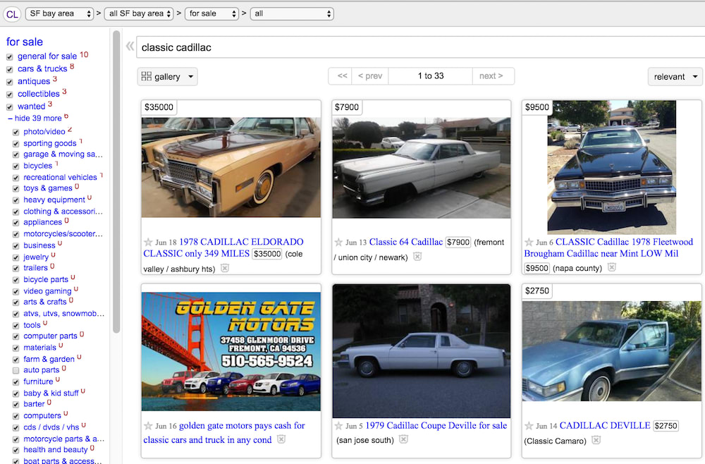 Used Cars Bay Area Craigslist