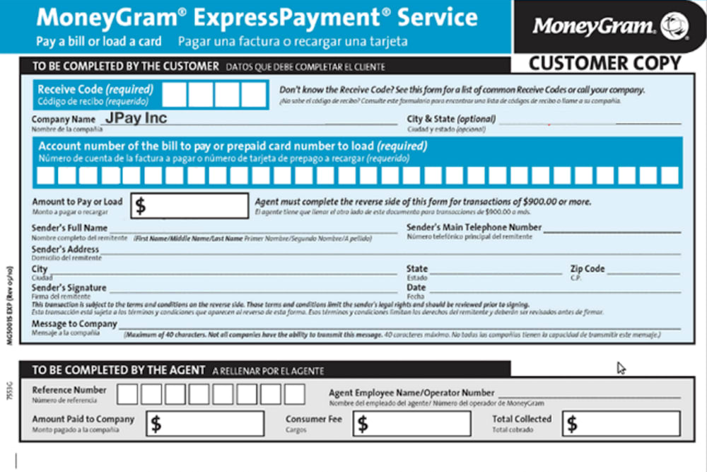 moneygram payment site