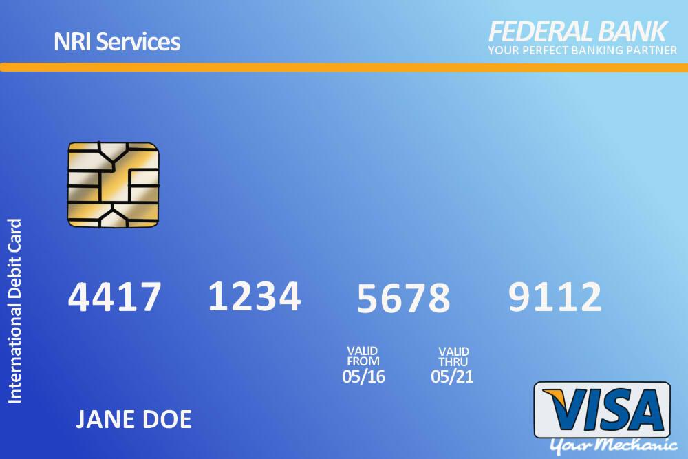 debit card example