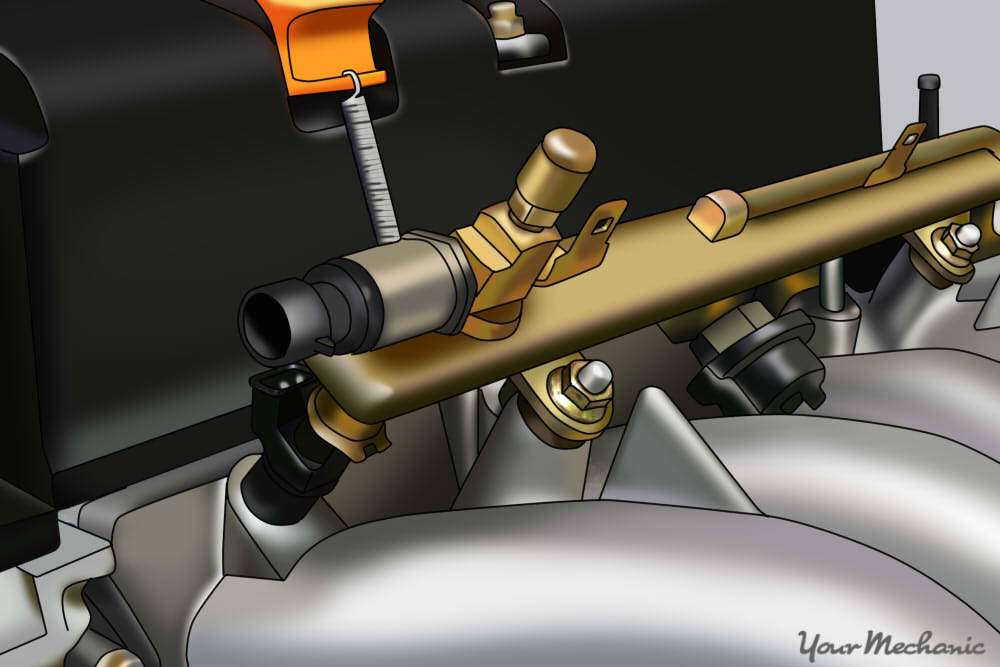 How to Replace a Fuel Rail Sensor | YourMechanic Advice