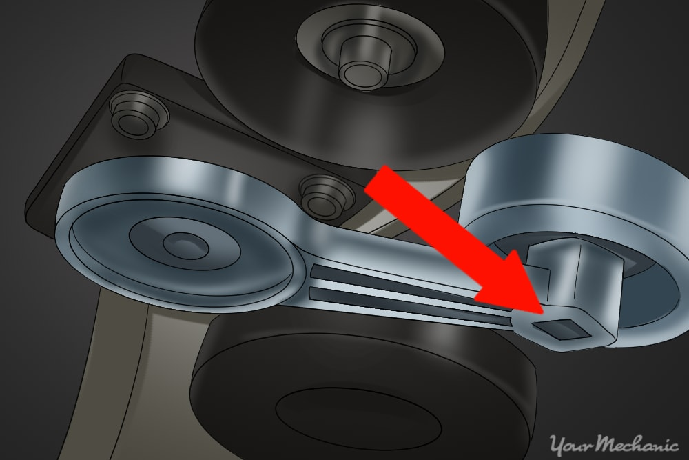 How to Replace a Serpentine Belt 4
