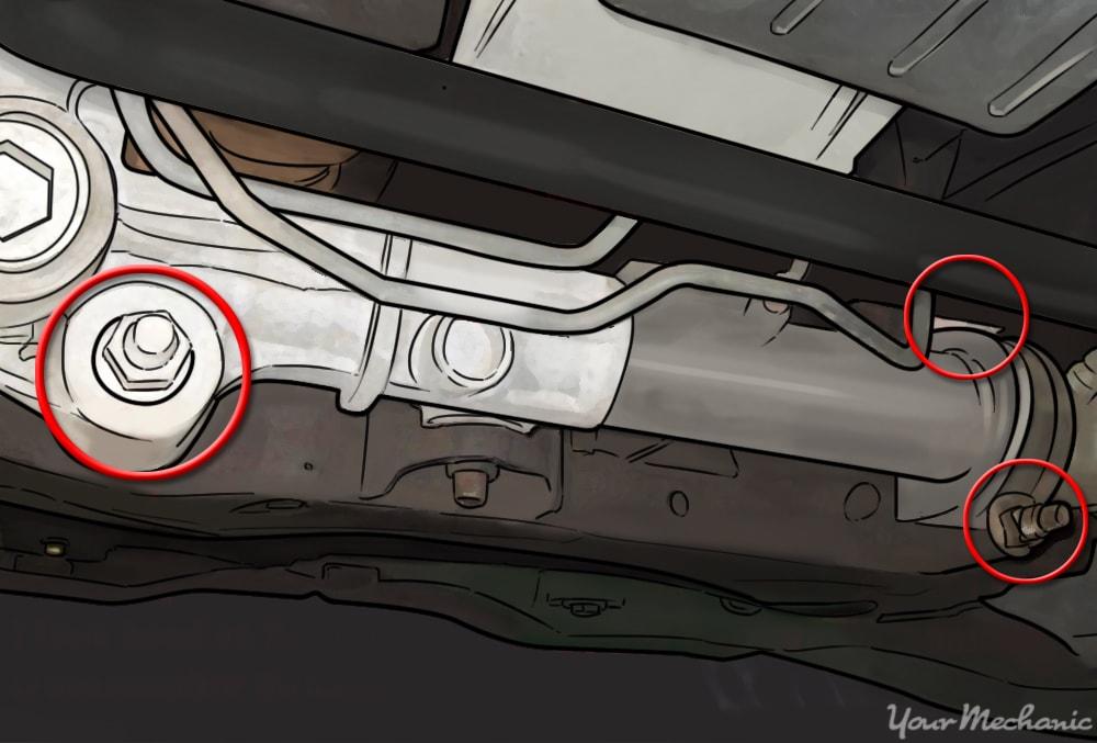 How to Replace a Steering Rack Bushing | YourMechanic Advice