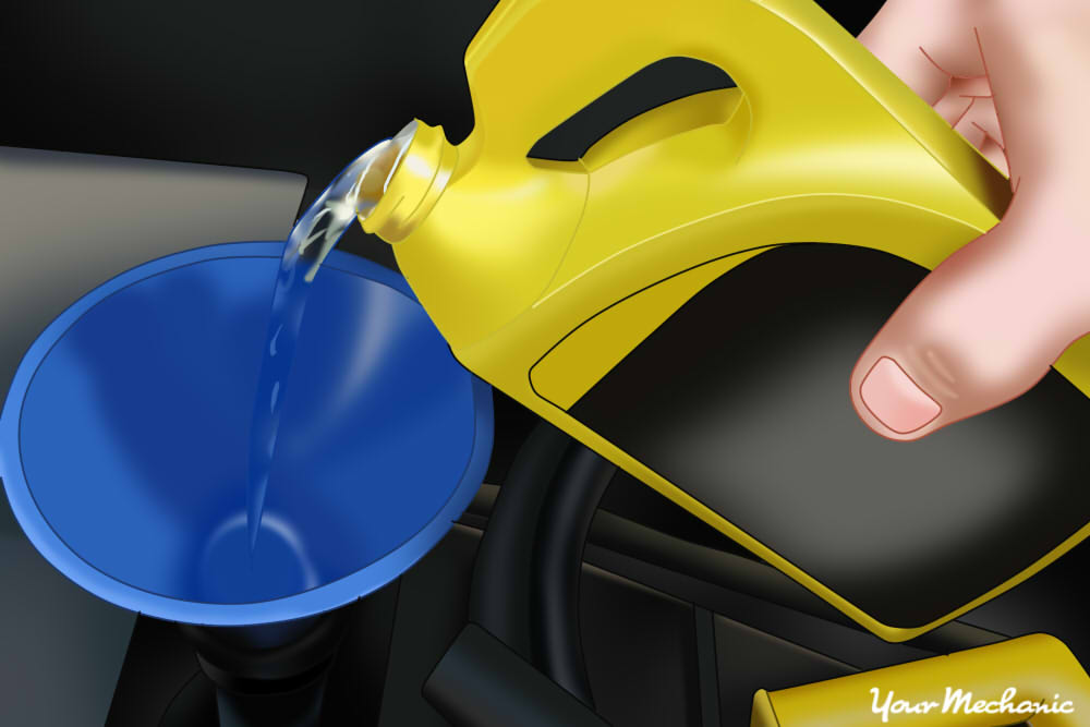 How to Replace a Surge Tank 4 refill engine coolant