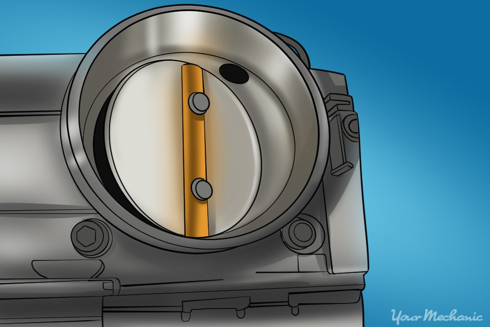 How to Replace a Throttle Body Due to Carbon Build-Up on Most Vehicles 4