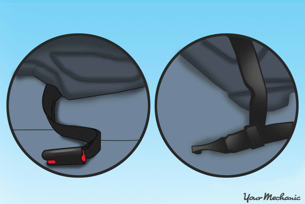 How to Anchor a Child Safety Seat - 5