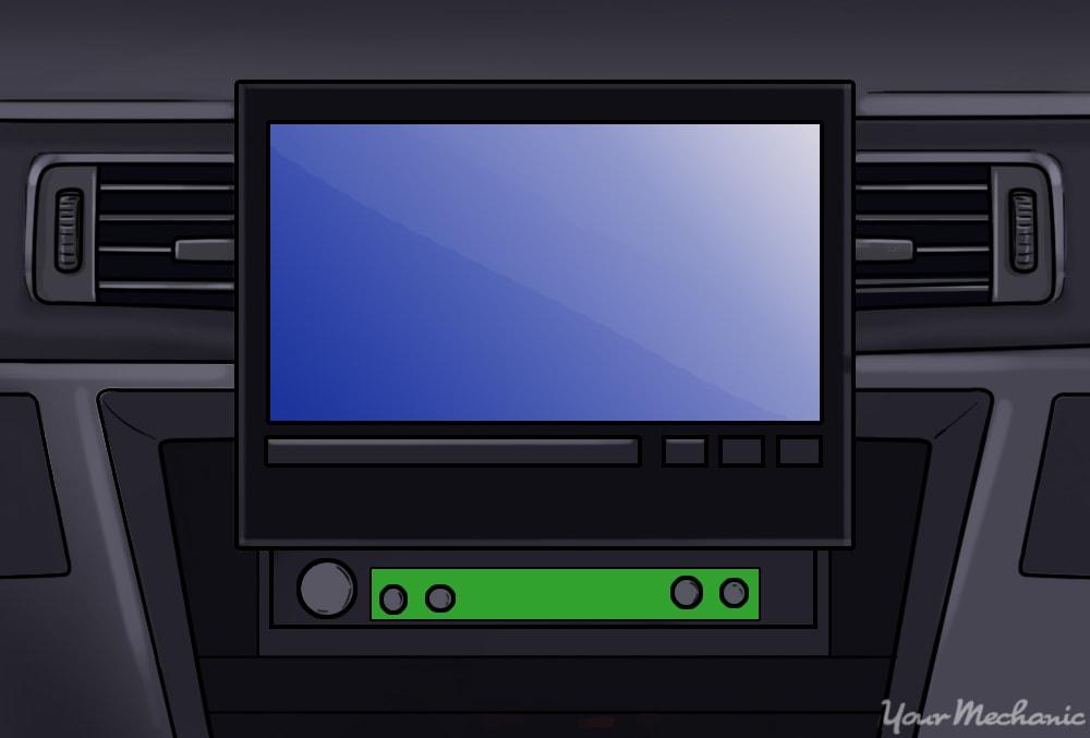 dvd in car