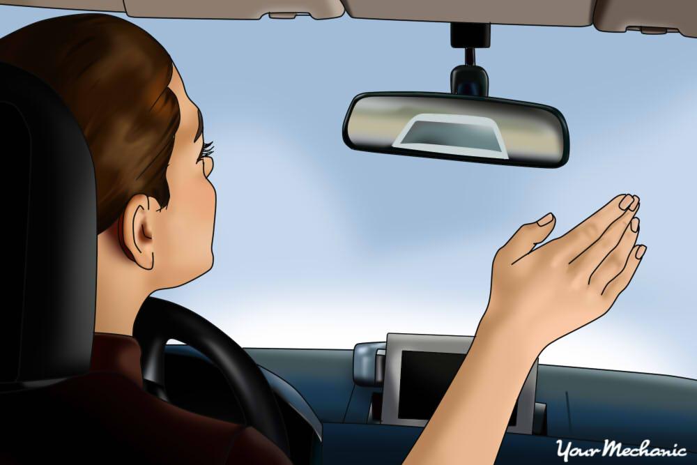 driver waving