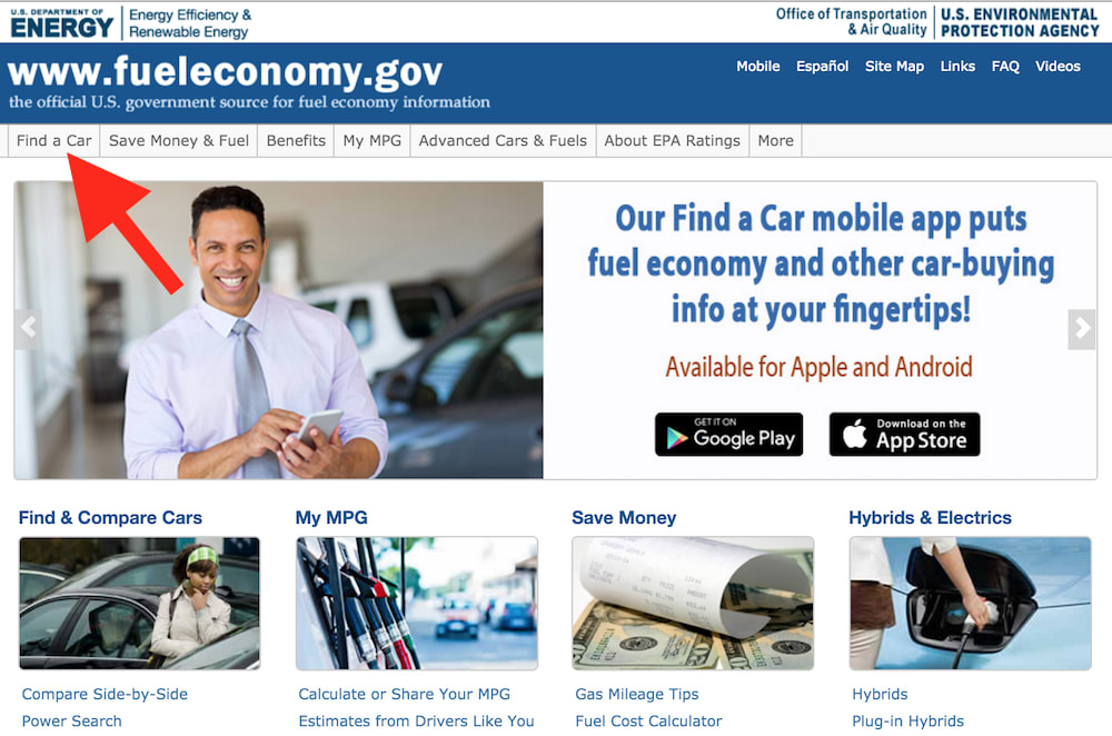 fuel efficiency homepage