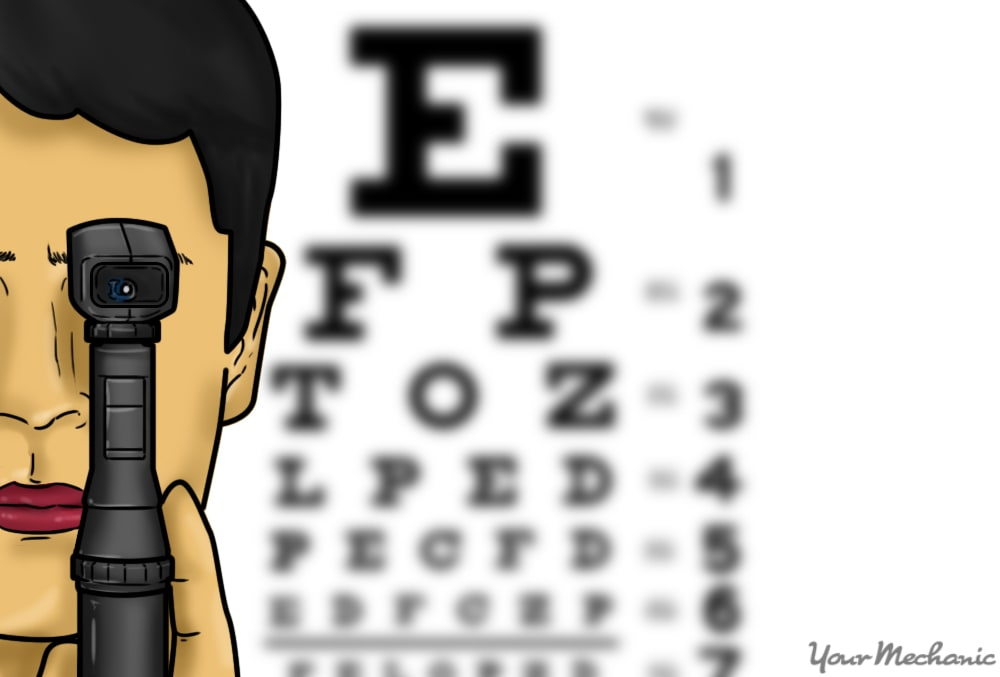eye exam picture