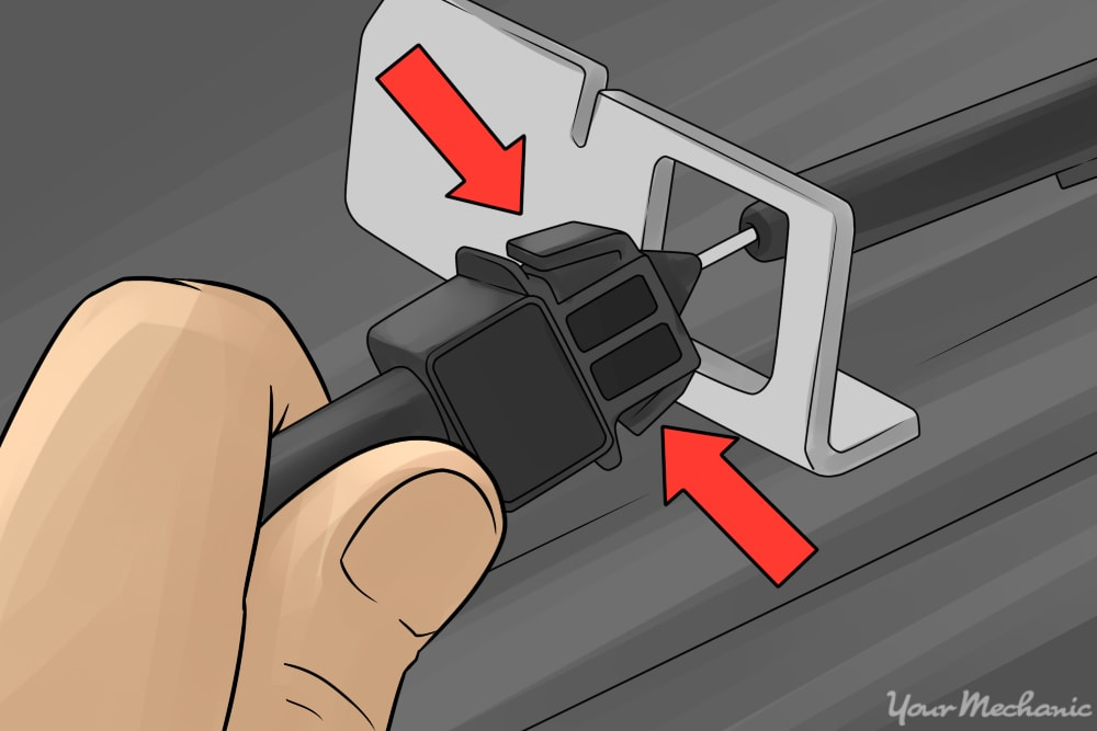 How to Replace a Car Kickdown Cable 5