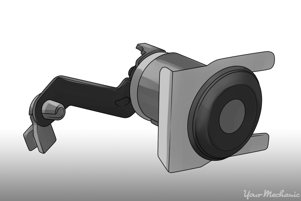 picture of a lock cylinder and the retaining clip in different styles for references on what other brands look like