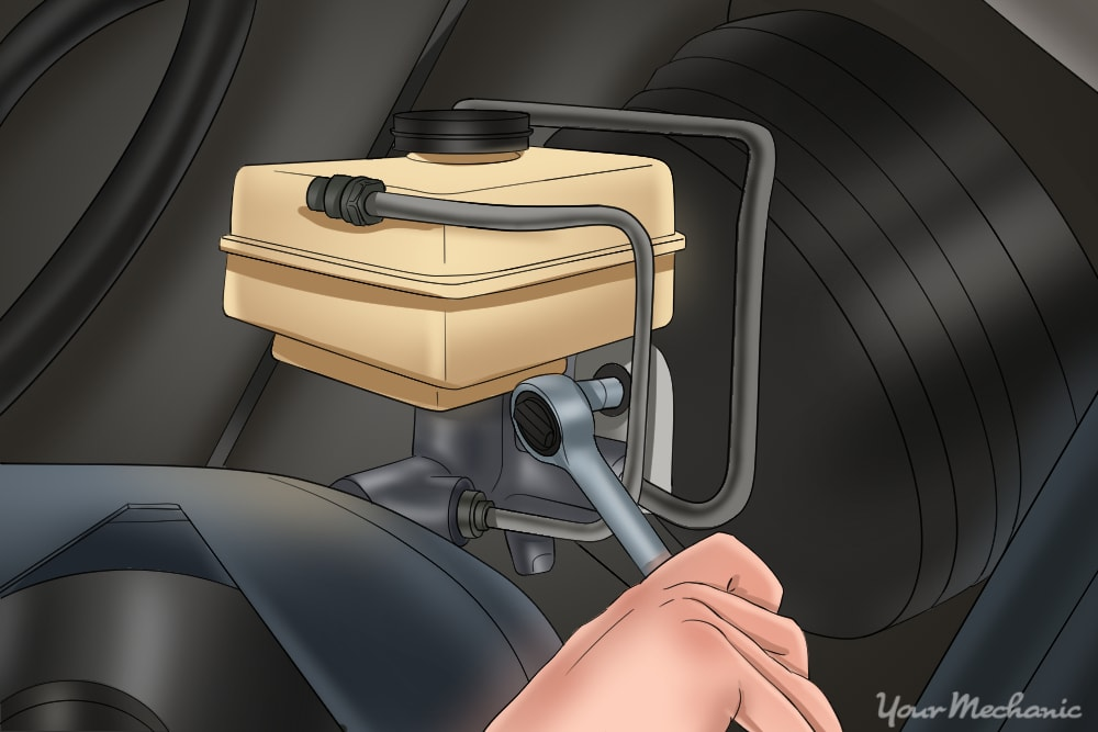 Remove the master cylinder