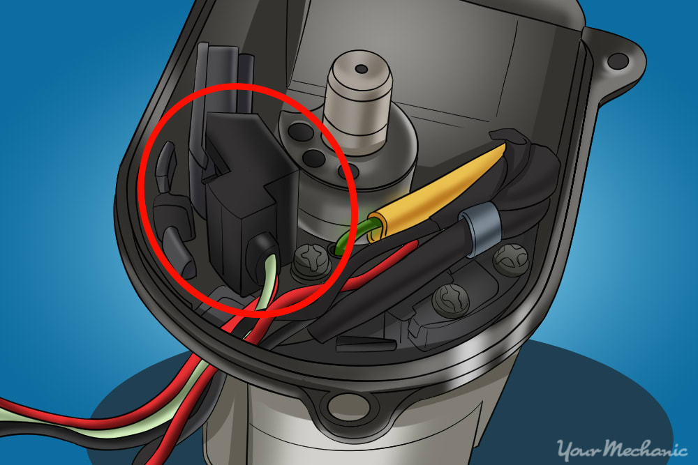 location of the ignition ignitor