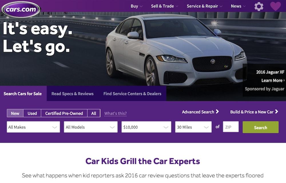cars.com 10000 dollar maximum