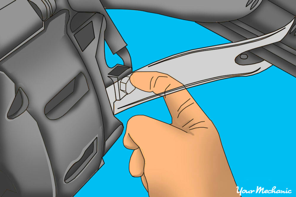 how to change a brake caliper - 6