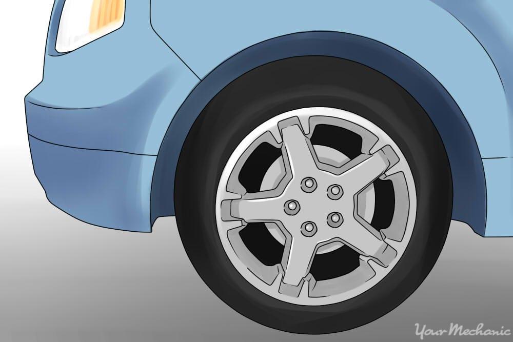 shiny finished wheel