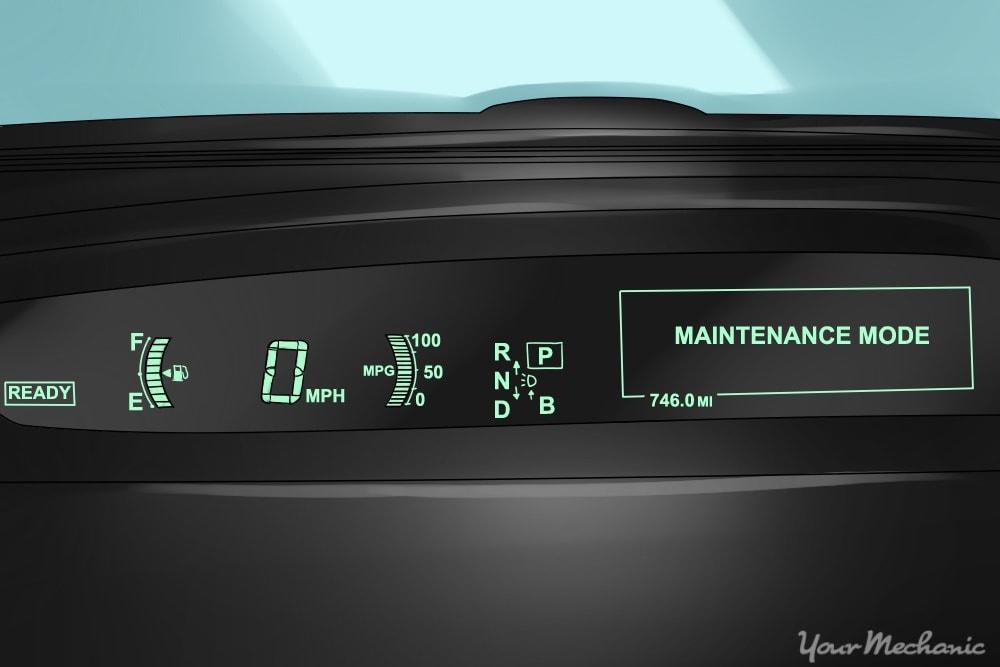 maintenance mode light