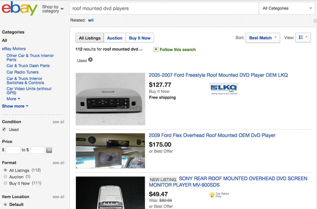 ebay catalog