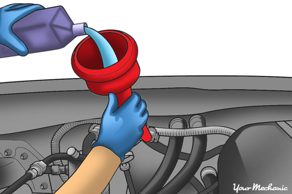 How to Check and Add Fluid to an Automatic Transmission 7