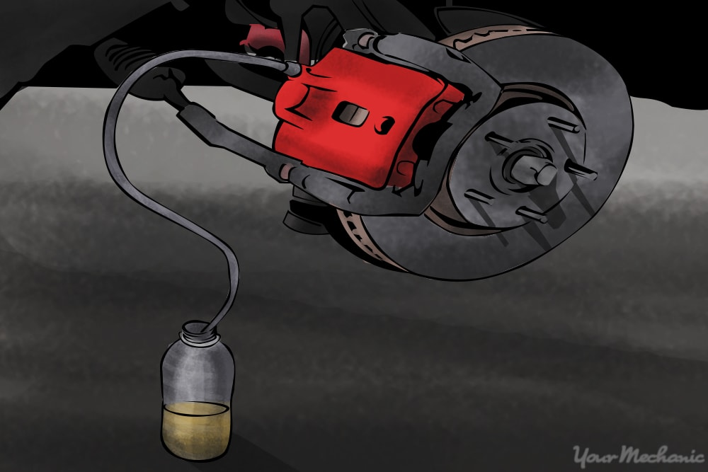 How to Find and Repair a Brake Fluid Leak | YourMechanic Advice