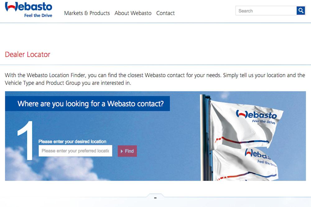 webasto site
