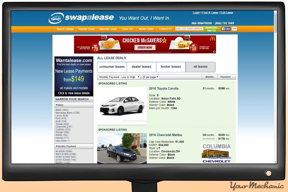 swapalease car site