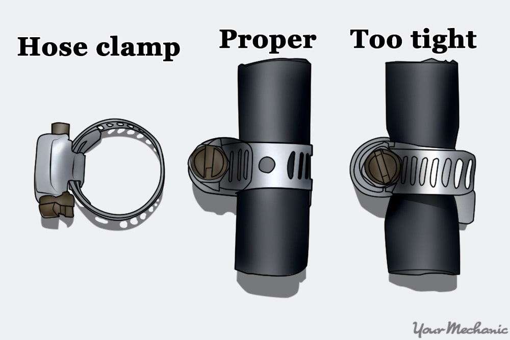 fuel hose clamp fittings