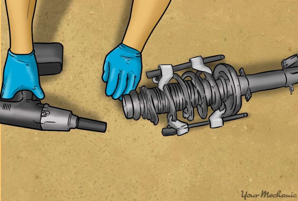 springs compressed