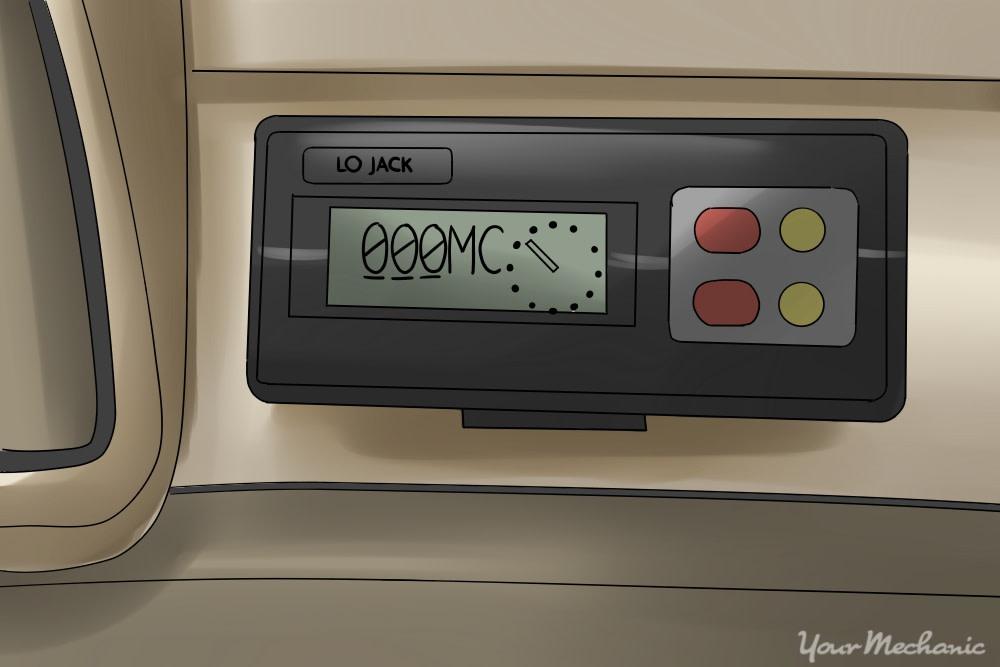 lojack device installed
