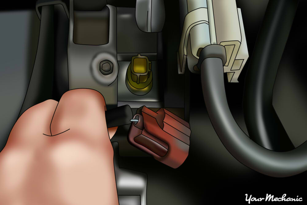 remove harness from transmission oil pressure switch