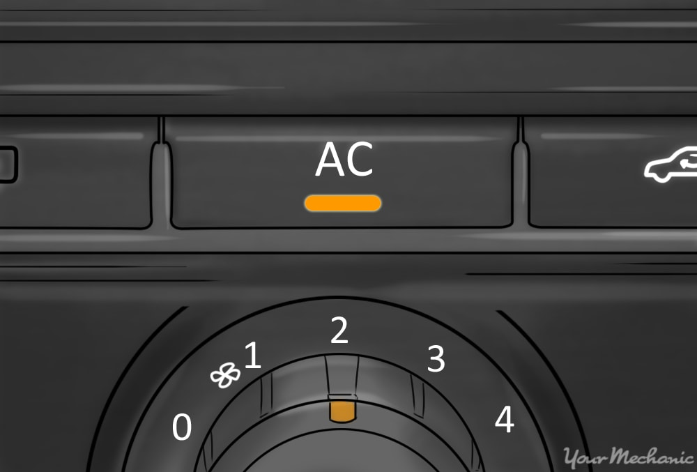 turning on the ac