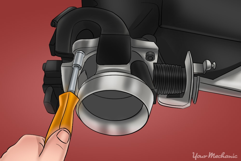 How to Replace a Throttle Body Due to Carbon Build-Up on Most Vehicles 9