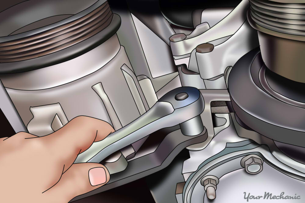 How to Replace an Air Injection Pump Belt 9