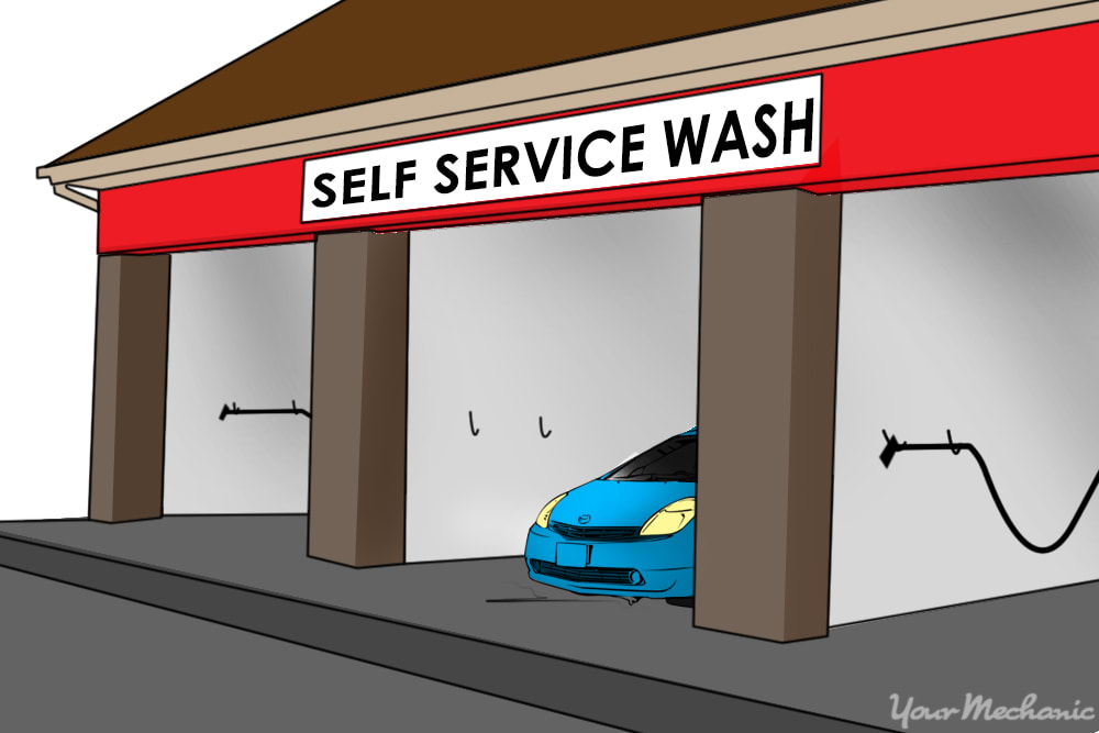 How to Use a Gas Station Car Wash | YourMechanic Advice