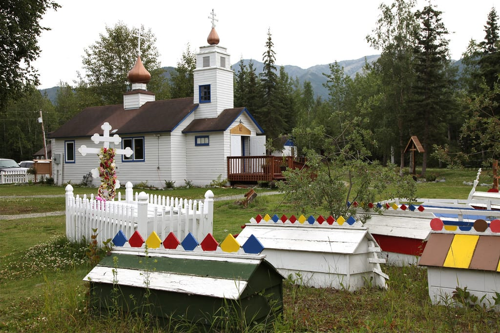 Eklutna Lake Scenic Drive Alaska