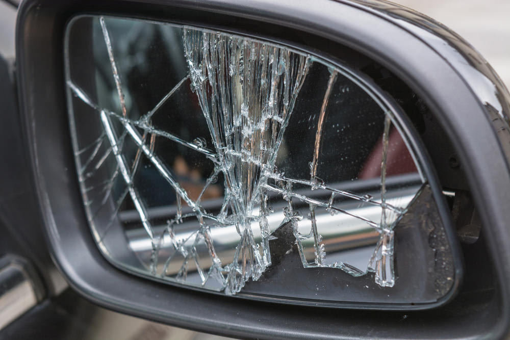 Entirely Replace A Ed Mirror, How To Replace The Glass In A Side Mirror
