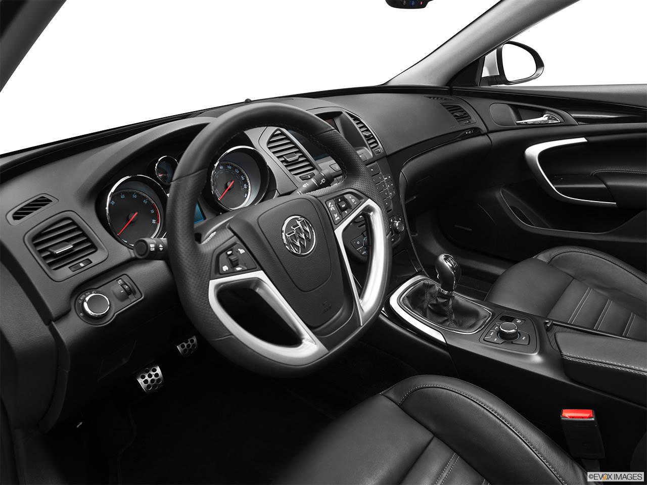 Buick Regal eAssist 2012 Interior